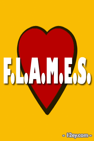 Screenshot F.L.A.M.E.S.