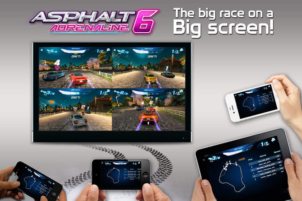 mzl.wviowjop Asphalt 6 Adrenaline gratuit sur lAppstore (temps limit)